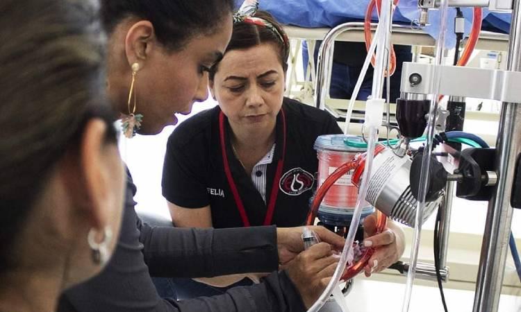 El pulmón artificial que está devolviendo las esperanzas a pacientes con coronavirus