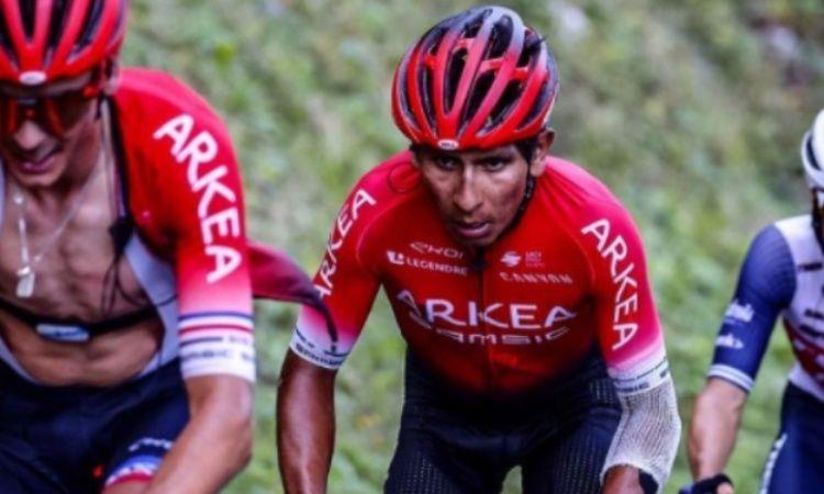 El alma luchadora de Nairo Quintana para terminar el Tour a pesar de caídas y golpes