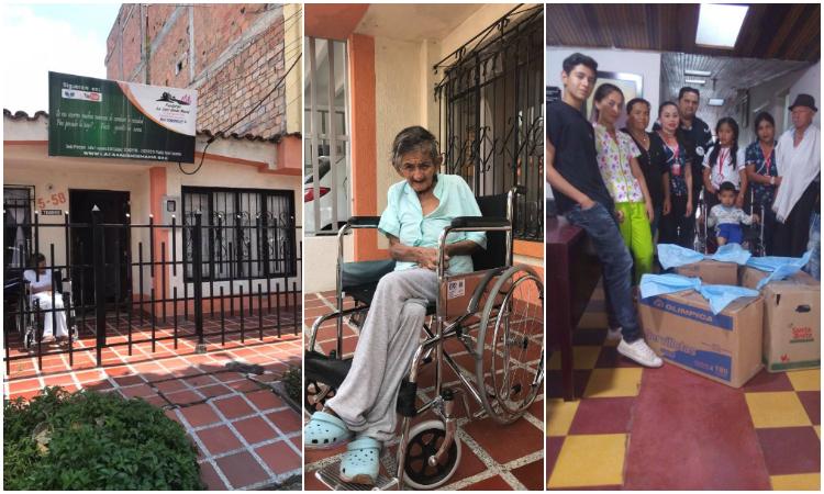 Un hogar de paso gratis para los más necesitados en Pitalito, Huila