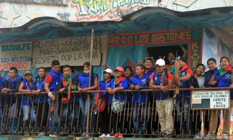 Guardia Indígena de Cauca recibe galardón internacional por labor en derechos humanos
