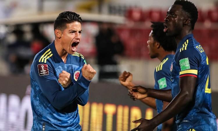 Definidos los horarios de los partidos de la Selección Colombia por Eliminatorias