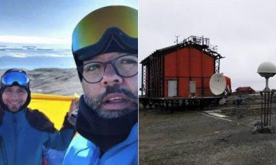 Académicos colombianos instalan la primera estación geofísica en la Antártida