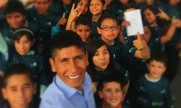 Las motivaciones que llevaron a Nairo Quintana a ser un niño feliz en medio de la escasez