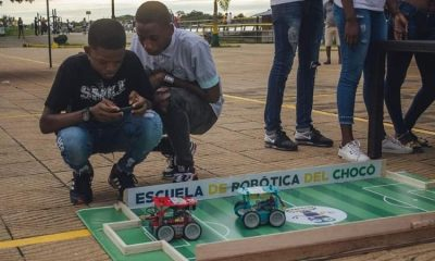 La robótica en Choco como camino para el futuro de los jóvenes