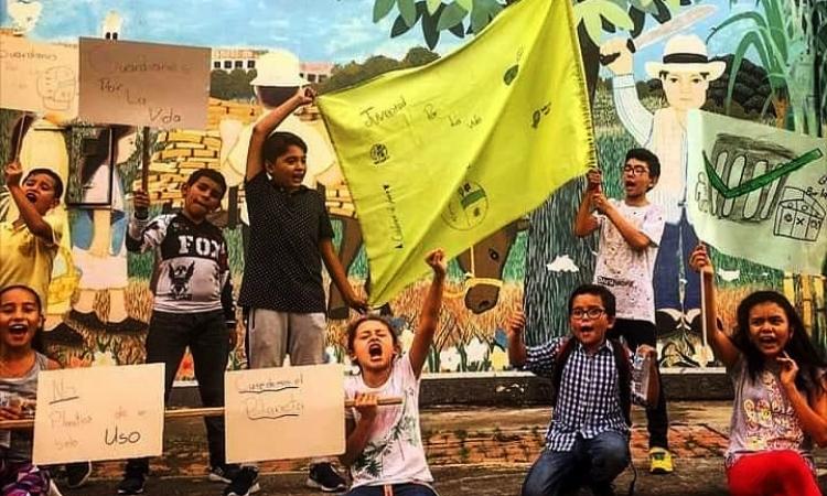 Los niños ambientalistas colombianos que luchan por el cambio climático