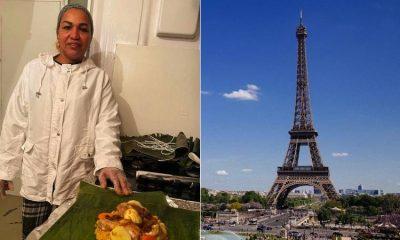 Familia colombiana emprende y triunfa en Francia vendiendo tamales