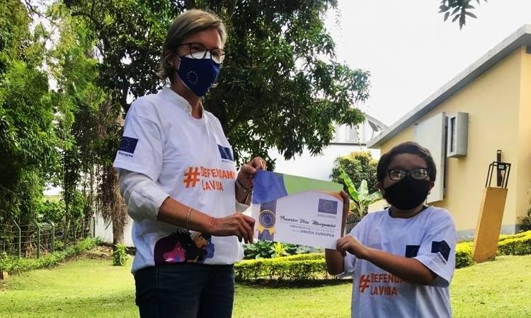 Francisco Vera, el niño ambientalista que es embajador de Buena Voluntad de la UE