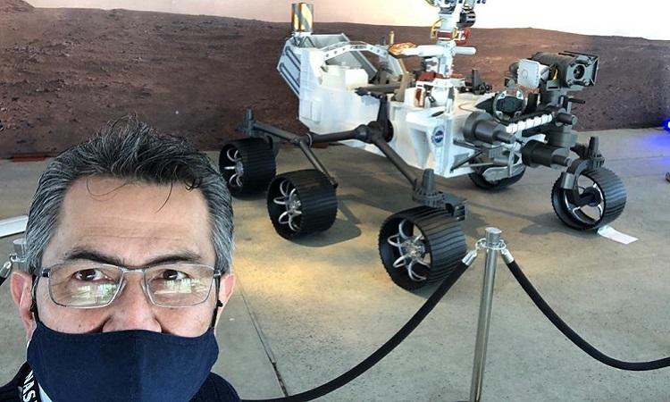 Orgullo: otro colombiano hizo parte de la histórica misión espacial a Marte