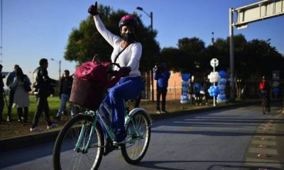 Estudiantes de la U. Nacional gana concurso por crear purificador de aire en bicicletas