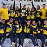 Colombia se coronó campeona del Suramericano de natación: acabó primera en el medallero