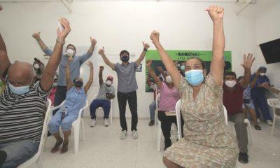 Optimismo en Barranquilla por proceso de vacunación: incluso batieron récord