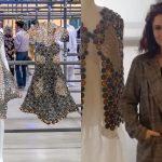 Colombiana genera diseños de vestidos con cápsulas de café y tiene éxito internacional