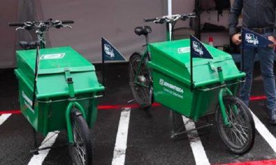 Bogotá inicia piloto de Ecobicis de carga para reducir la contaminación #MásOxígeno