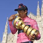 Egan Bernal sigue rompiendo récords en el ciclismo mundial