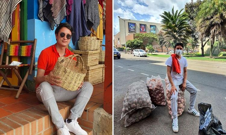 El joven boyacense que se pone la camiseta para ayudar a los campesinos del país
