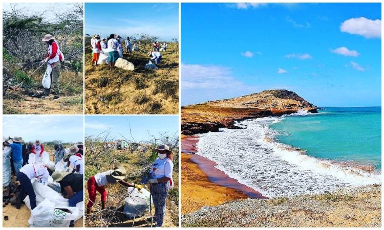 Súmate al proyecto que busca limpiar el mar del Cabo de la Vela en La Guajira