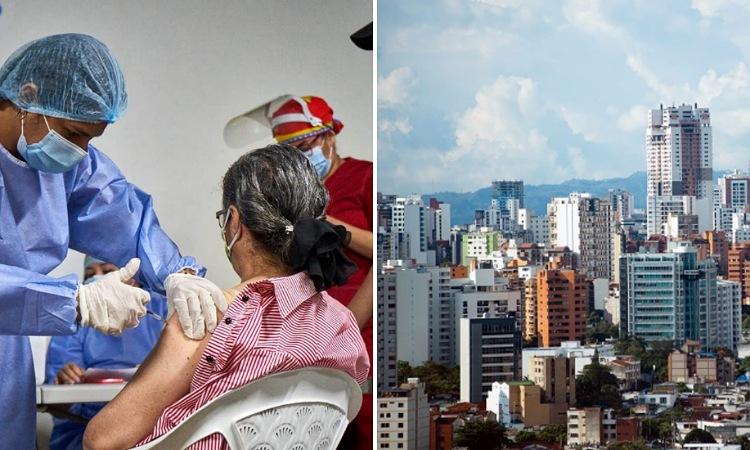 Bucaramanga busca ser la primera ciudad principal en alcanzar la inmunidad de rebaño