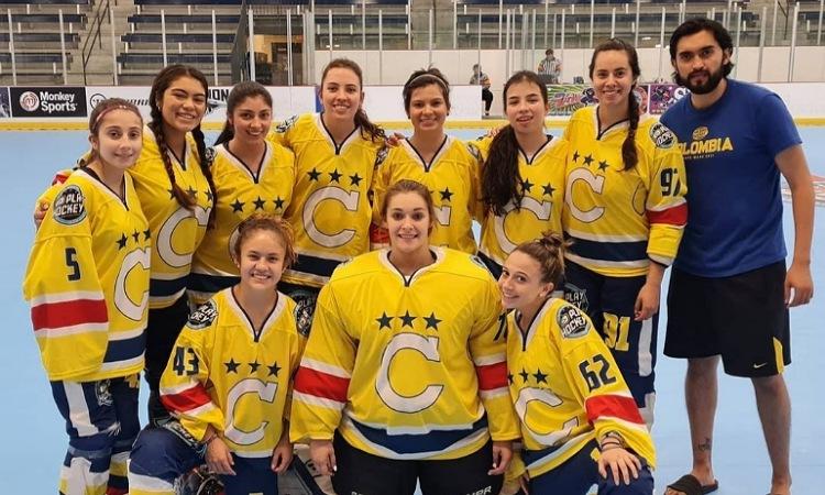 Equipo femenino de Colombia, quedó campeón en torneo mundial de hockey en Estados Unidos