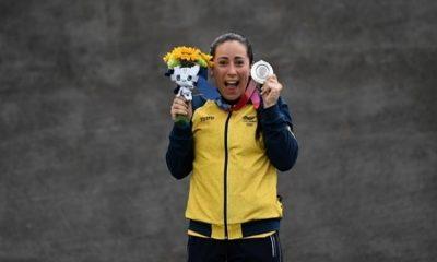 """""""Una medalla de plata que vale oro"""": Mariana Pajón hace historia en los Juegos Olímpicos"""