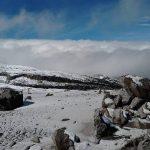 El Parque Natural Los Nevados quedó vestido de blanco luego de dos nevadas