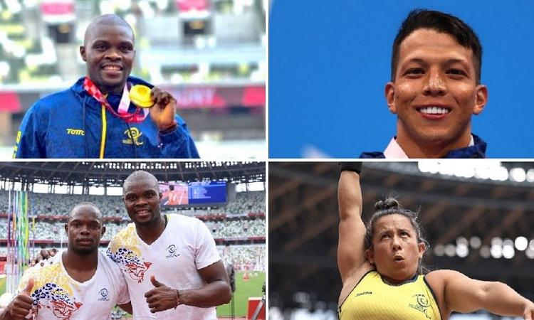 ¡Orgullo nacional! Colombia completa 6 medallas en los Paralímpicos de Tokio