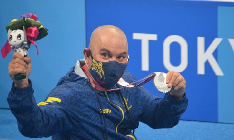 ¡Leyenda! Moisés Fuentes gana plata, su cuarta medalla en la historia de los Paralímpicos