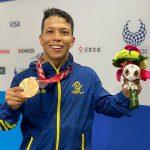 ¡Imparable! Nelson Crispín consigue su tercera medalla en los Juegos Paralímpicos