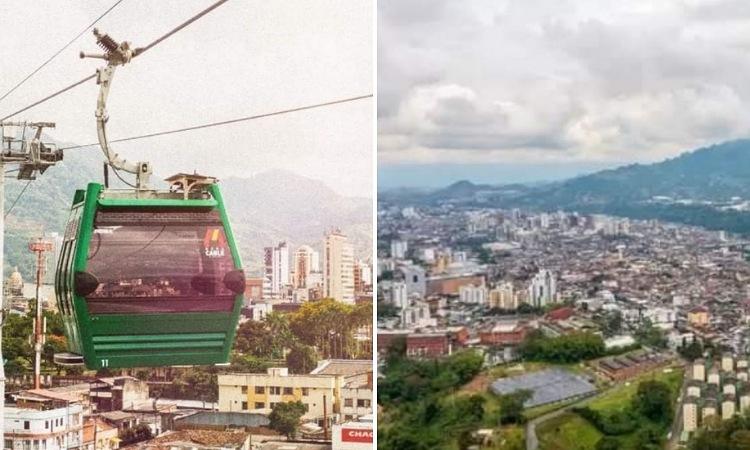 Inauguran el cable aéreo más largo de Colombia ¡Tiene 3,4 kilómetros de longitud!