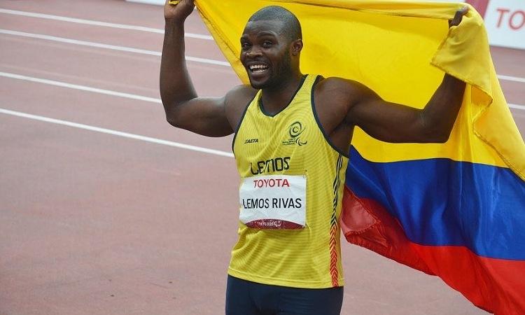 José Lemos le da una nueva medalla a Colombia en salto largo